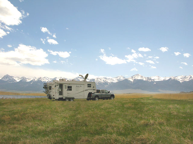 Working Remotely From Colorado BLM Land Free RV Boondocking