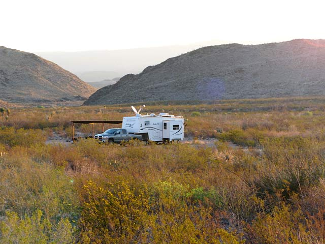 Working Remotely From Black Gap Texas RV Boondocking