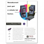 Print Industry Display Ad for Removable Disk Drive Array