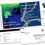 Direct Mail Piece for Intermec POS Scanners