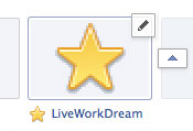 Facebook Timeline Page App Tab Edit Icon