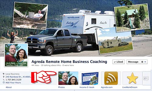 New Facebook Timeline Page Cover Photo and Tabs