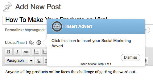 Make products go viral with Social Marketing plugin.