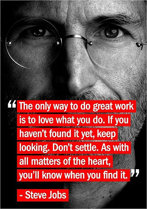 steve jobs inspirational business quote