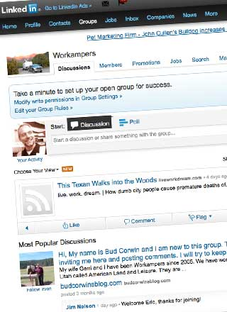LinkedIn Workampers Group